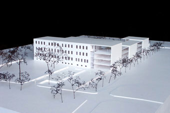 Entwurf Für Einen Gesundheits  Und Wohnungskomplex